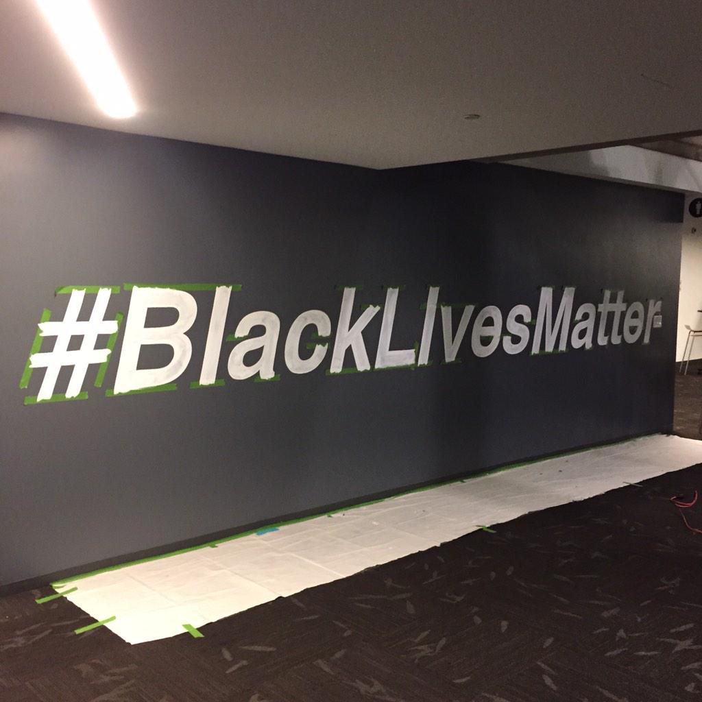 This is on the wall @twitter HQ  #blacklivesmatter #fmf2014 http://t.co/kQ3gzvkbSq