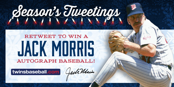 Retweet for a chance to win a Jack Morris autographed baseball! http://t.co/rIvGAbYaQV http://t.co/oJgMUkuNpE