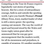 RT @Atheharv: .@gareththomas14 's #Proud chosen as one of @Independent 's Books of the Year @CalvinBook @EburyPublishing