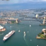 Sydney harbour from a sea plane is staggering. even my Lumia camera loved it. #seeaustralia http://t.co/6g8W2BCzOk