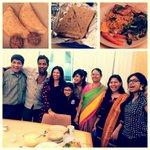 The winners of the #MirchiDabba contest wid @menehaaaaa @Sangsterr & Suren. Khane ke liye mirchi is the perfect place http://t.co/5jpnAj3hgP