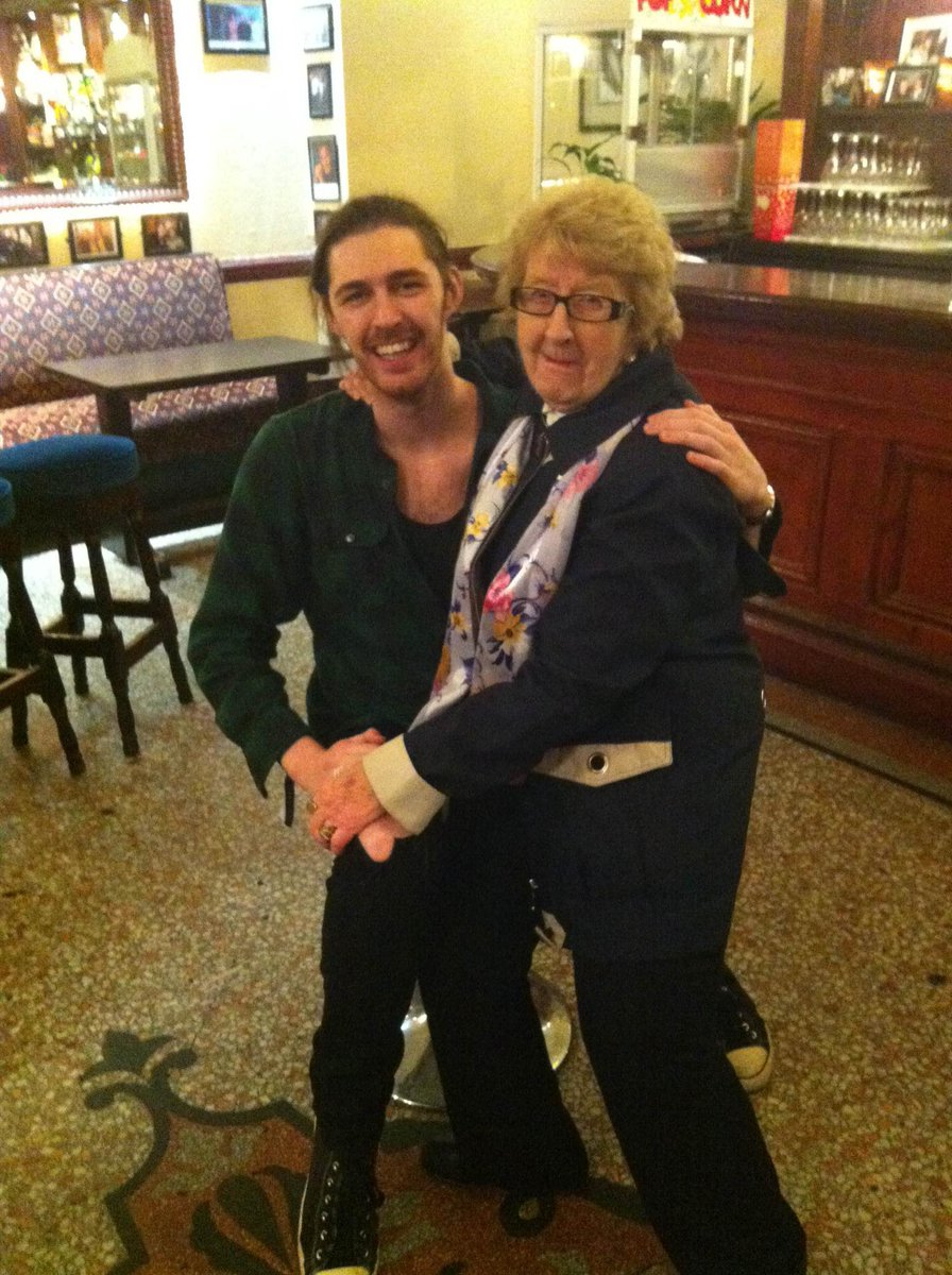 More proof Maureen Grant is the biggest flirt in Dublin Town... @Hozier http://t.co/rVwtSrAfIO