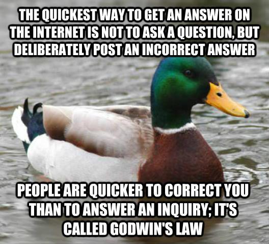 Godwin's Law. http://t.co/zZtrPu0P5R