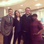 Love me some @DaveAnnable10 and @octaviaspencer (and our director Robbie). Thanks for having me #RedBandSociety!