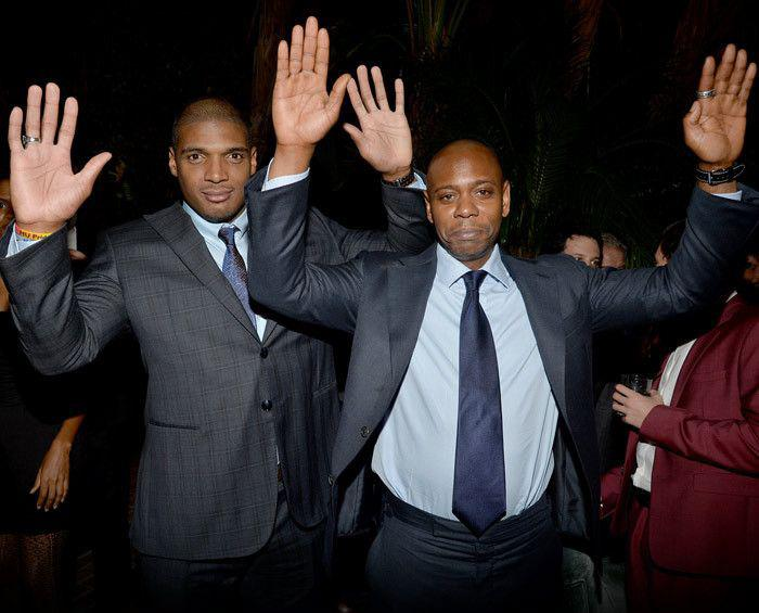 Michael Sam & Dave Chappelle: HANDS UP, DON'T SHOOT!