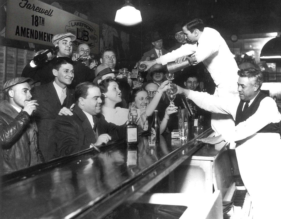 Prohibition Repeal Day, today, followers & followettes. Cheers to 81 years of the 21st Amendment! http://t.co/tca7Jvsuru