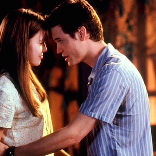 "We were SUCH babies! @NicholasSparks: ""I told you not to fall in love with me."" - #AWalktoRemember #fbf http://t.co/7cByEkD4Ry"""