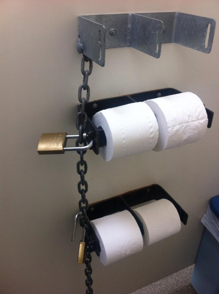 They REALLY don't want you to steal the toilet paper in Huntly... http://t.co/tZmOO6aTRJ