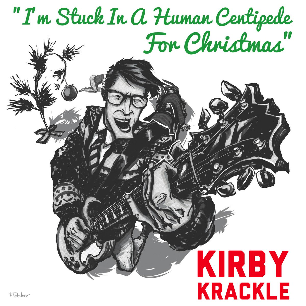 """2014 Holiday Single is here! """"I'm Stuck In A Human Centipede For Christmas"""". Free download at http://t.co/fIEDYUgAXs http://t.co/tVs5c0KpFz"""