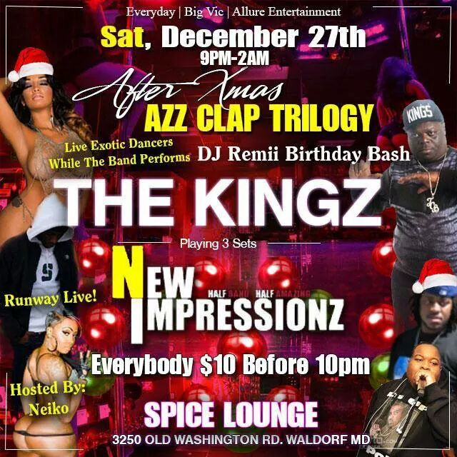 @Iamdjremii BDAY BASH KICK OFF LIVE AT SPICE LOUNGE WITH @NEWIMPRESSIONZ AND @BouncebeatKingz!  #OUROFFICIALDJ! http://t.co/8mJ8iHrVaR