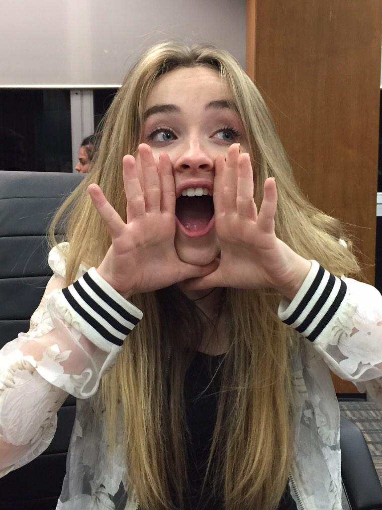 .@DisneyChannel Here's a special shout out to all the GMW fans from @SabrinaAnnLynn! #GMWHolidays http://t.co/zjkrPQivAB
