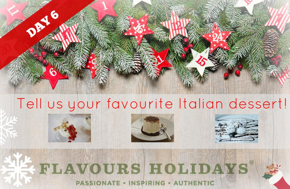 Answer our question & win coffee and biscuits from @justsoitalian.  #12DaysOfXmas http://t.co/Brru7KYWao