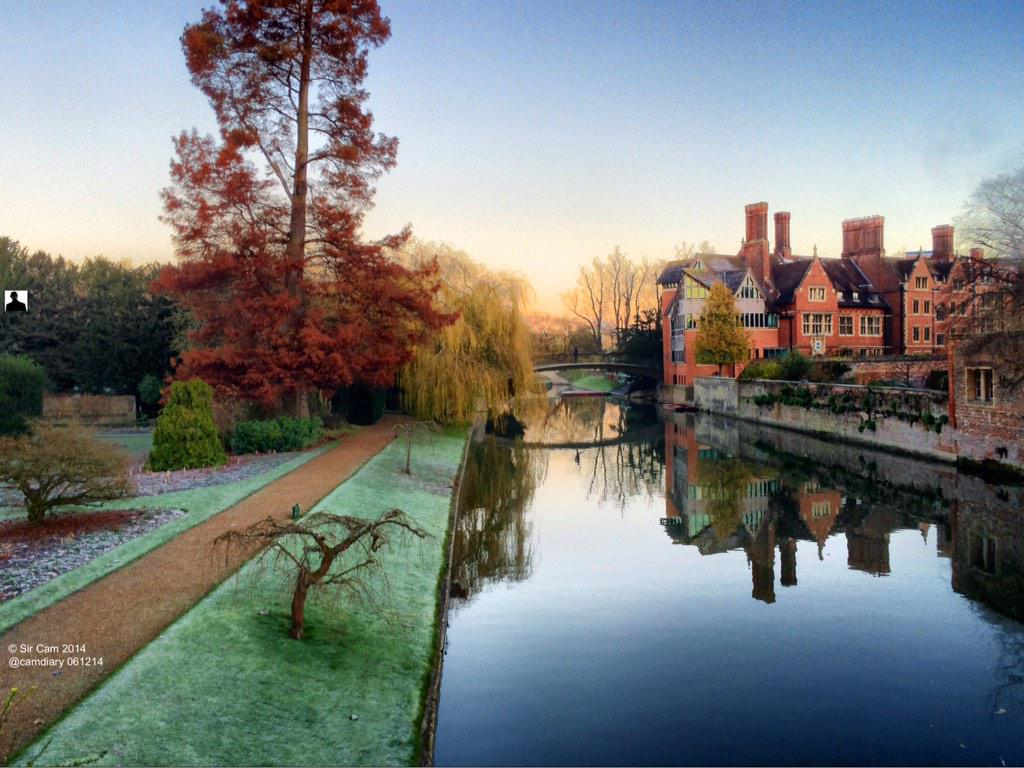 A fffreezing morning in Cambridge. (Can't feel my fingers!) http://t.co/DchBLccn7L