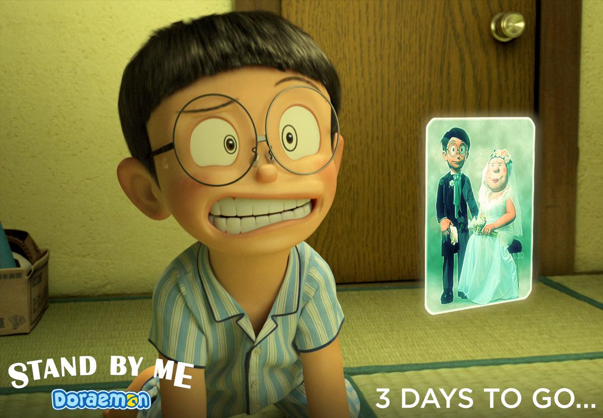PVJ Lovers!! 3 days to Premiere DORAEMON STAND BY ME on 10 December 2014 only at @blitzmegaplex Be ready guys! http://t.co/T53bDFaVi3