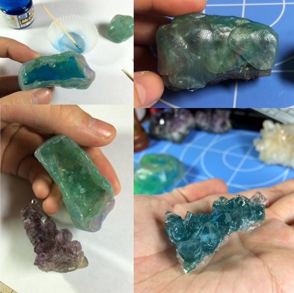 【Erumaerまとめピックアップ】材料はおゆまるとレジン!本物そっくりな鉱石の作り方→ http://t.co/kTt9nW1STo 透明感がとってもリアル!一見難しそうですが、実は簡単に作れちゃうんです♪ #おゆまる #レジン http://t.co/IJiekMBlEe