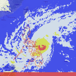 RT @nababaha: Weather satellite feed as of Dec 06, 2014 06:00 PM. http://t.co/8lZyuiCFYe
