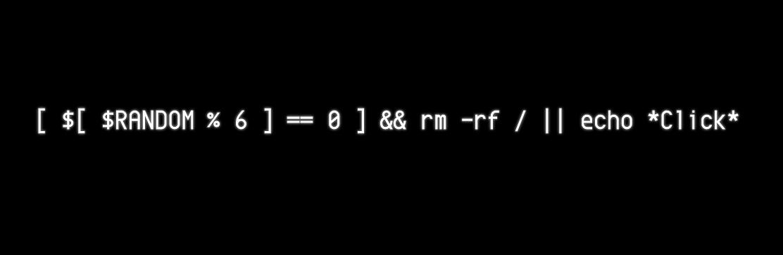La ruleta rusa, versión #sysadmin http://t.co/ZcH2kxjEqA