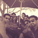 "U bet, bro!! #fun""@nandishsandhu: Some chit chat n jokes over lunch. What perfect weather in #CapeTown. #KKKOnColors http://t.co/MW5Rzui4TR"""