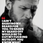 """@Esquiremag: Meet Tom Hardy, greatest actor of his generation, on his beard: http://t.co/X6Wi9ptbN7 http://t.co/PW0gynIf6Q"""