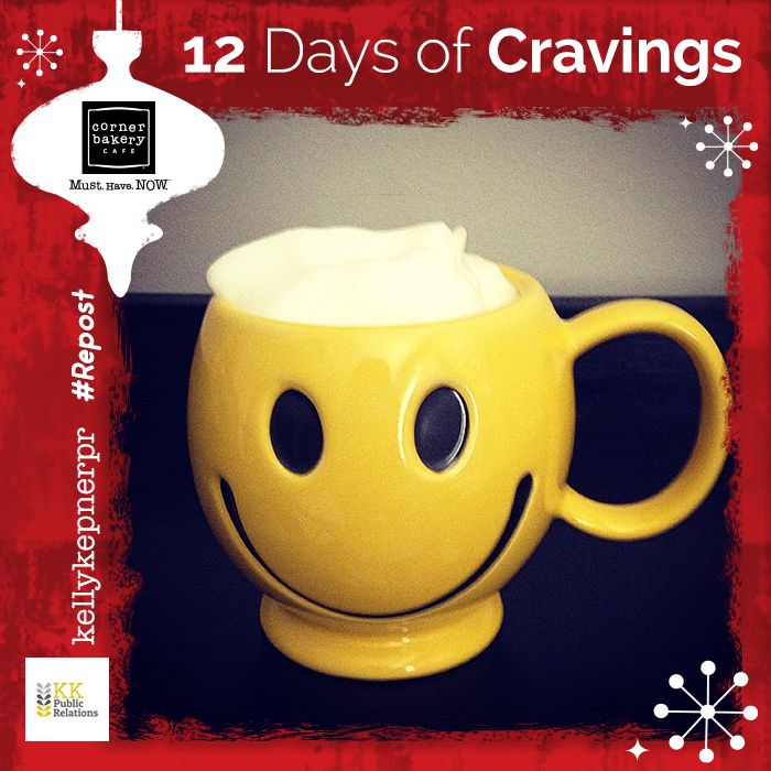 Join us here, starting December 10th for the #12DaysOfCravings.   $25 #GiftCard & #Treat #Giveaways daily! http://t.co/igKJx2fx2e