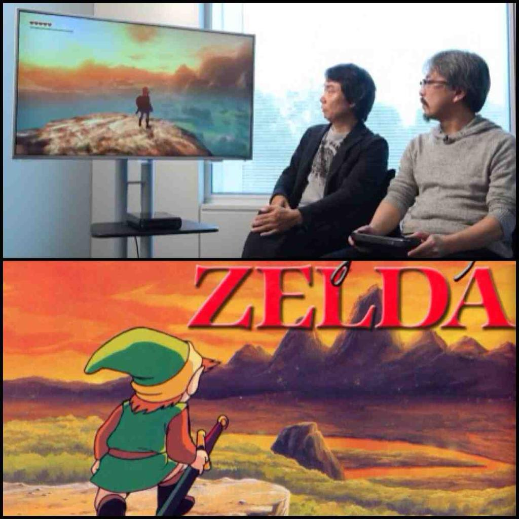 #LegendofZelda hype! New footage from Nintendo calls back to the original artwork! http://t.co/oEi8hVFS60