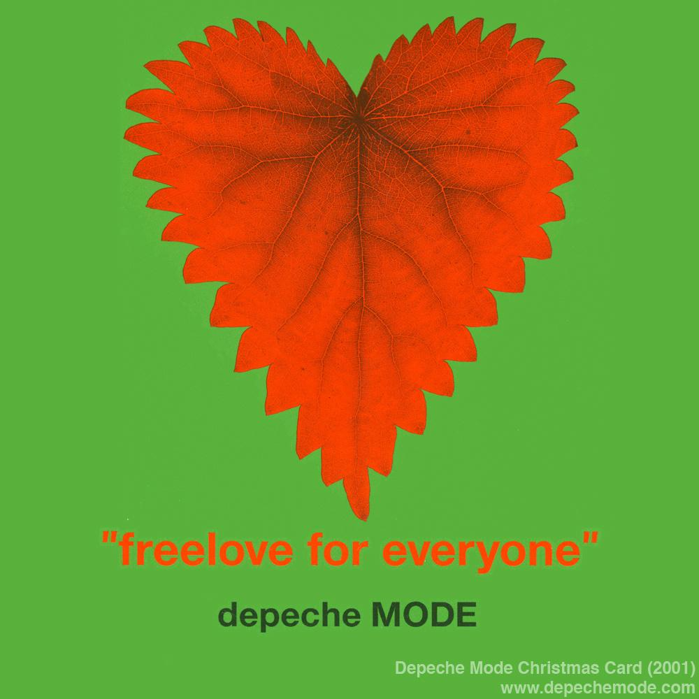 RT @depechemode: Freelove For Everyone. The #DepecheMode Christmas Card from 2001. http://t.co/gbbv8pc51L