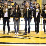 """Last week the ladies were honored at halftime MBB game for having the highest team GPA ( 3.75) in the nation! #SMTTT http://t.co/UK31VMeuQs"""""""