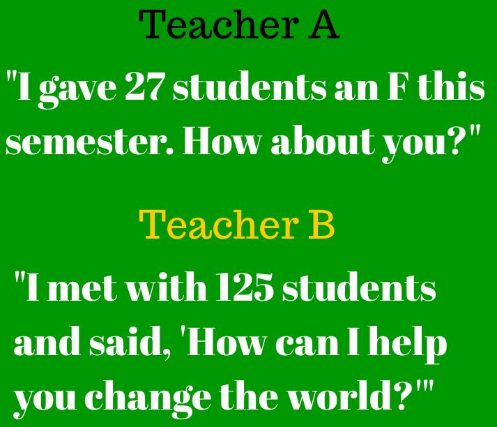 RT @markbarnes19: Are you Teacher A or Teacher B? http://t.co/4924TqVu87