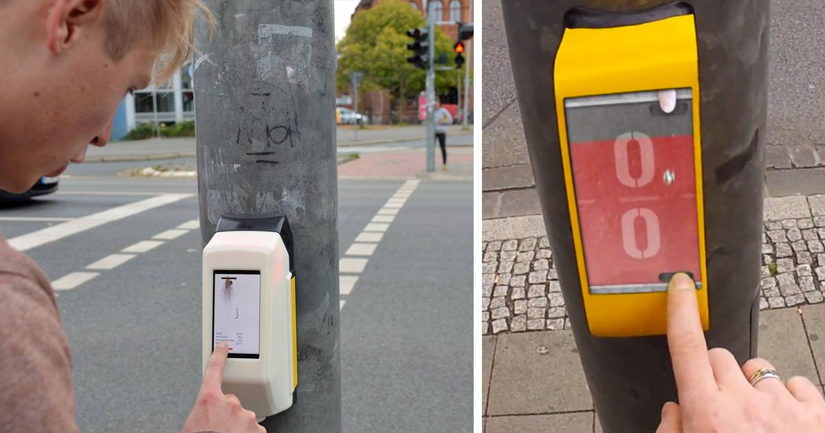 Traffic Light That Lets You Play Pong with Person on the Other Side Installed in Germany http://t.co/hk6rQpOhuB http://t.co/ClIi3febBg
