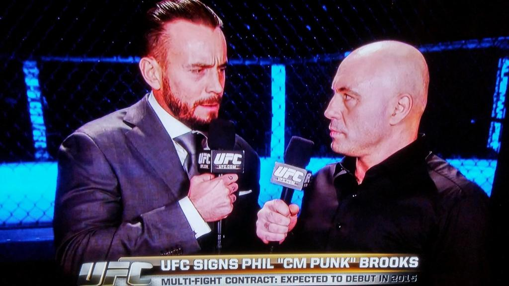 CM Punk signs multi-fight deal with UFC, announcement made at #UFC181 tonight in Las Vegas http://t.co/K79Jw9dfTw