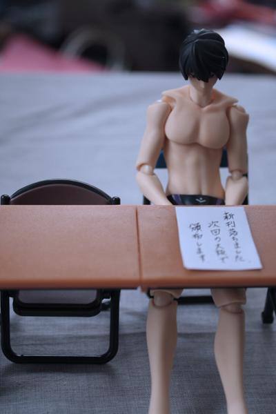 冬コミ新刊を落とした遙さん http://t.co/uZAwI95w3m
