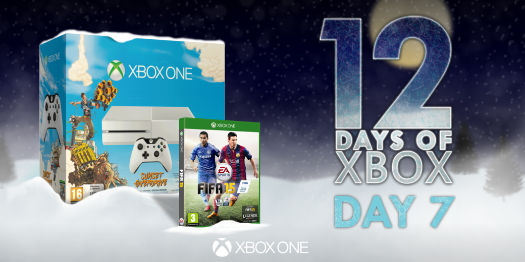 Score yourself a Christmas treat!  Retweet for a chance to win an #XboxOne with FIFA 15! http://t.co/h1brkpSqsO