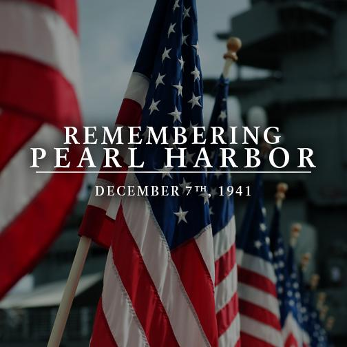 Today we remember #PearlHarbor. http://t.co/Sy9WsOSaWL