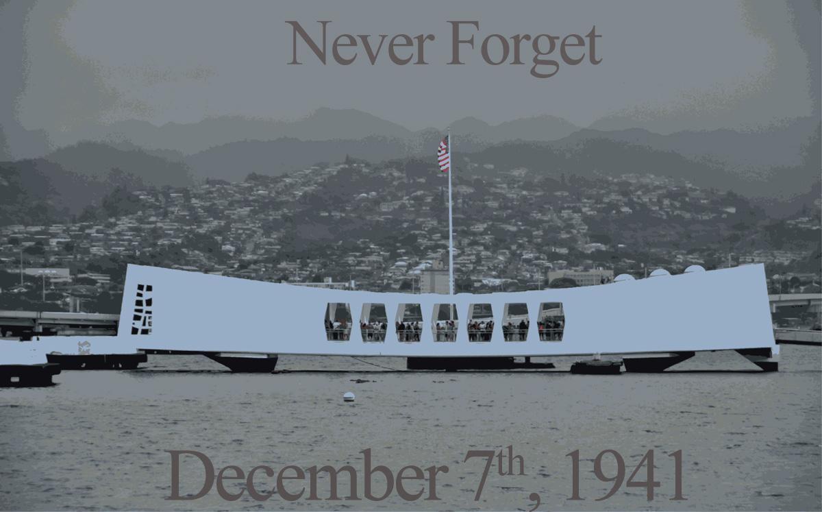 Never forget December 7th, 1941. (U.S. Navy photo by Mass Communication Specialist 1st Class Daniel Barker/Released) http://t.co/mjX6HoVQhx