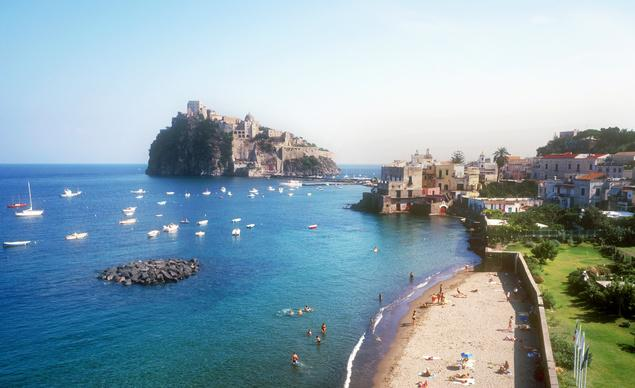 Just GO- Ischia off the coast of Naples, Italy  @italy_it