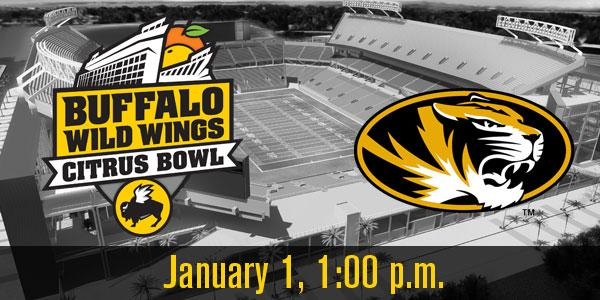 The first half of our game for January 1, 2015 is set: we're happy to welcome the @MizzouFootball Tigers to Orlando! http://t.co/CdDSyyRwhL