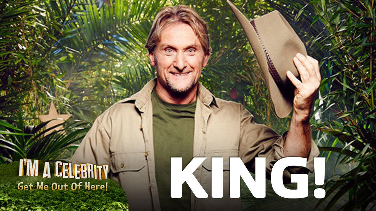 LIVE FROM THE JUNGLE: 'Is this real?!' You've crowned Foggy this year's King of the Jungle!!! http://t.co/ZiMYrx0chR http://t.co/lEPqt6s6c5