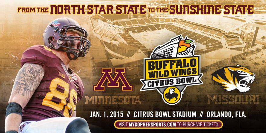 We'll be ringing in the New Year in Florida! #Gophers vs. Missouri at the @BWWCitrusBowl. http://t.co/e7jpfa7dvp http://t.co/iOxtkaYnkw