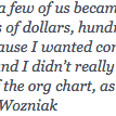 RT @semil: Been thinking about this Wozniak quote all day, from the video I shared earlier: http://t.co/UmNlR75FoU
