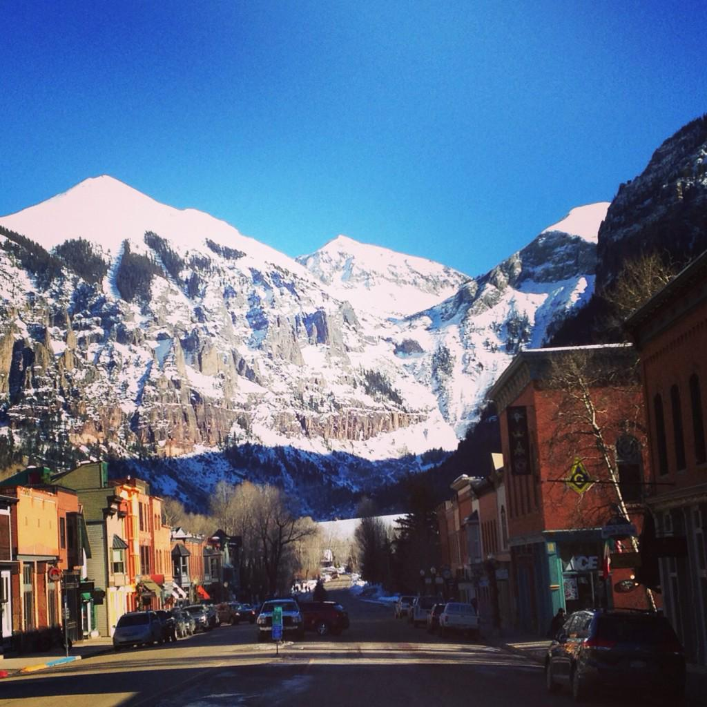 Greg Fitzsimmons (@GFitzsimmons): It's the best Main St in #America: #Telluride, #Colorado. http://t.co/GQQa04HauA