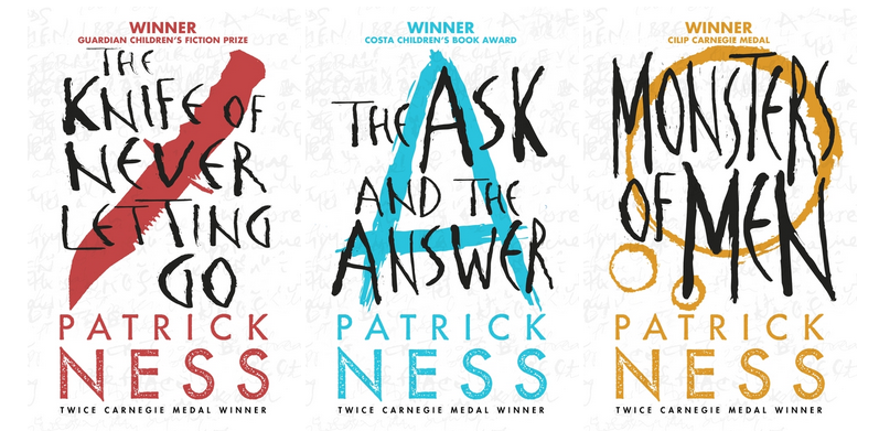 Need a gift for your buddy? Books for your Bestie - Chaos Walking series, Patrick Ness  http://t.co/MuYKsZSHEU http://t.co/TpA1eDSQg2