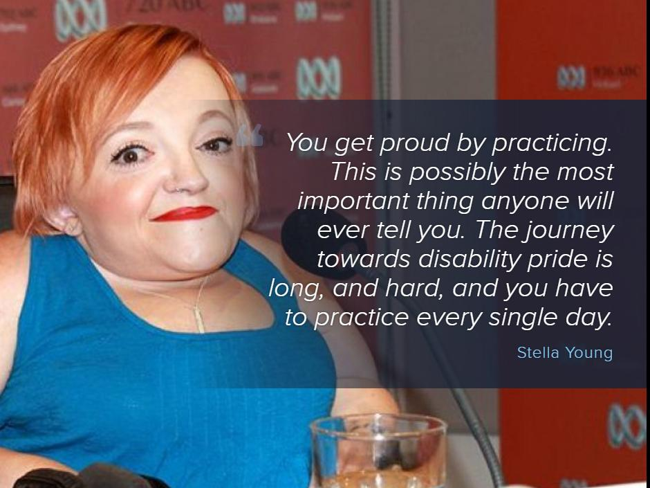 Here are 7 articles which showcase the wit, warmth and humanity of Stella Young http://t.co/XD2aKDLbN9 http://t.co/dUxUTbaPSP