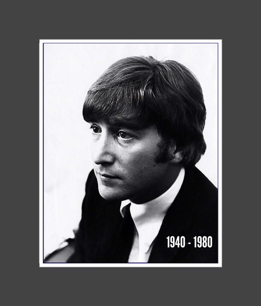REMEMBERING John Lennon on this the 34th anniversary of his untimely passing. #IMAGINE #PEACE http://t.co/yASGSaG6Jw