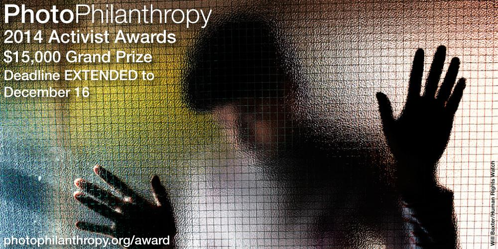 Apply to the 2014 Activist Awards and win $15,000 USD! Deadline Dec 16.  http://t.co/soiCZsbEog #photography http://t.co/1aQUtbhbv3
