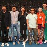 RT @iptl: When Bollywood stars meet tennis idols!   #BreakTheCode http://t.co/lc9XP3emmQ