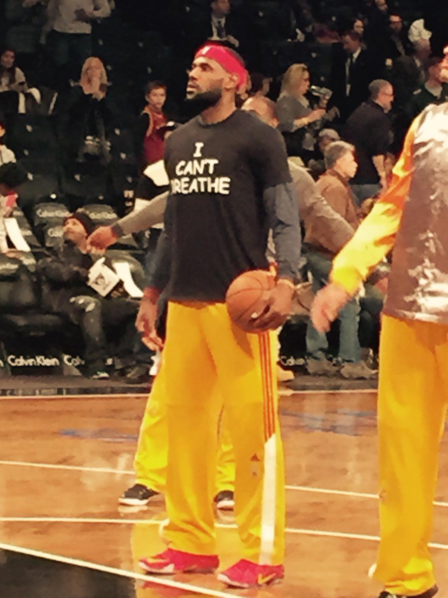 LeBron James, Brooklyn, NY, USA, Dec. 8, 2014. http://t.co/tulJxoDe1G
