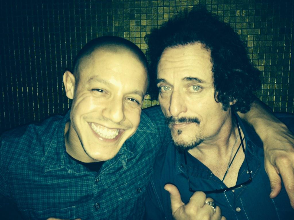 All the years, the blood & the tears. Tomorrow is your night #SOAFX world. Brotherhood is forever. @KimFCoates http://t.co/4H289qEWY8