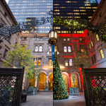 Before and after: New York City landmarks get dressed for the holidays http://t.co/qG33O3jfON