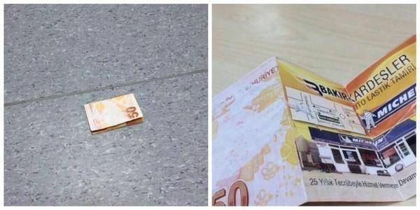 """#فكرة  """" بروشور """" ذكيّة جدا  """"تخيّل تلقى 500 ريال وتفتحها تلاقيها برشور مطعم""""  ...!!! http://t.co/9tJQOeg3Nl"""" #تسويق #إبداع #مطعم #تجارة"""