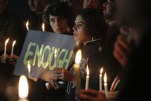 141 beautiful souls were murdered in hate. We #PrayForPeshawar and carry heavy hearts, today. Enough. (pic: AP Photo) http://t.co/r4vfZmcIQD